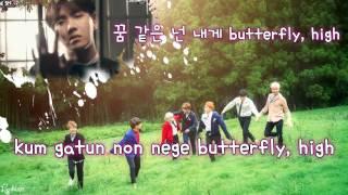 BTS (방탄소년단) - Butterfly (Karaoke/Instrumental)