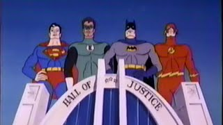 Justice League - Batman - Super Friends DVD's (2003) Promo (VHS Capture)
