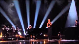 Christina Aguilera & A Great Big World Say Something Live AMA 2013