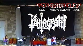 Pentagram - Mephistopheles (LIVE) @ Harbiye Açıkhava Tiyatrosu / 1991