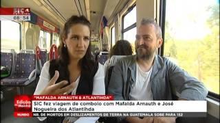 Mafalda Arnauth & Atlantihda - SIC Notícias - 6 Outubro 2015