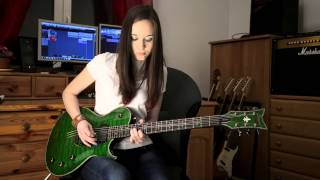 BLACK SABBATH - Paranoid Solo cover video by Stringsgirl