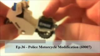 Lego City Police Motorcycle Modification 60007