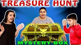 TREASURE HUNT CHALLENGE | Indoor Funny Game for Kids | Mystery Box | Aayu and Pihu Show