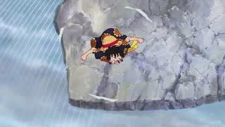 Luffy use Bellamy's technique VS Doflamingo HD