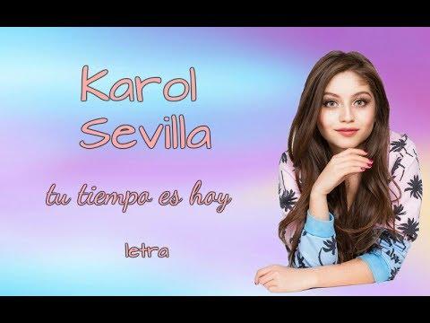 Tu Lo Puedes de Karol Sevilla Letra y Video