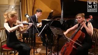 Haydn - Trio No  4 in F Hob  XV39F Menuetto IV  - Bea Cazals, Alice Sophie, Juan Rezzuto