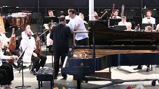 July 17, 2016: Mozart Piano Concerto No. 20 - Highlights