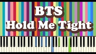 BTS(방탄소년단) - 잡아줘(Hold Me Tight) piano cover