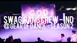 SWAG GANG Crew | GEAR OF DANCE Season 2 - 2018