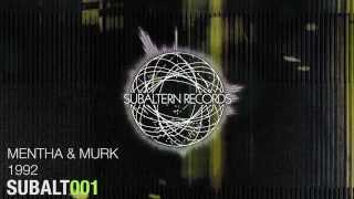 Mentha & Murk - 1992 [SUBALT001A]