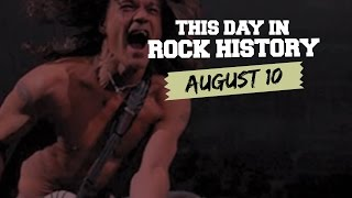 Van Halen Breaks Up, Billy Joel Issues Final Rock Album - August 10 in Rock History