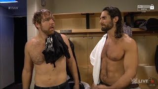 Seth Rollins And Dean Ambrose Backstage