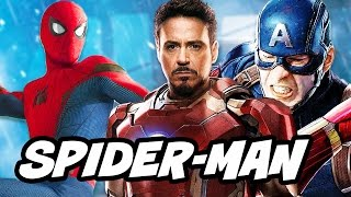 Spider Man Homecoming Avengers Tower Promo Pictures Explained