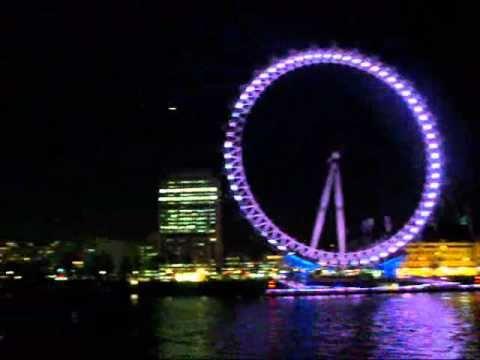 London eye and sorrounding areas in London Uk