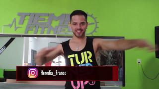 HEY DJ REMIX - Cnco ft Yandel - Coreografia Zumba / Franco Heredia