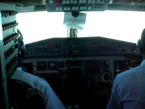 Cockpit of Yeti Airways' Everest Tour