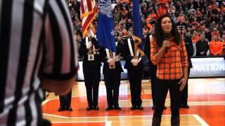 Karla Davis National Anthem (Carrier Dome)
