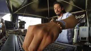 Dour Festival 2015 / Dub Corner with Ackboo - Live ft. MC Green Cross