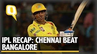 IPL 2018 | Recap: Chennai Super Kings Win a Thriller vs RCB | The Quint width=