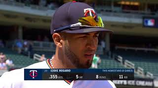 Twins' Rosario on Berrios: 'He dominated everything'