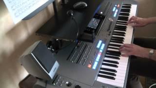 La marche de Radetsky (Yamaha tyros 5)