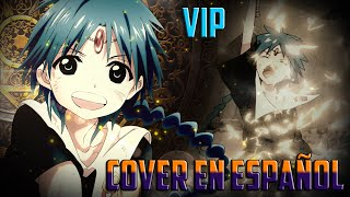 "Magi: The Labyrinth of Magic ""V.I.P"" (Cover en español)"