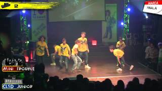 2 - Mini Trouble (Junior) @ CLSD 2012 by OneBeat.ro