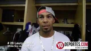 Leury Garcia se vistió de héroe con los White Sox