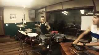 Jonatan Betancur y Dj Gabann - House Music Live Percussion - Astronomia - Drums Cover