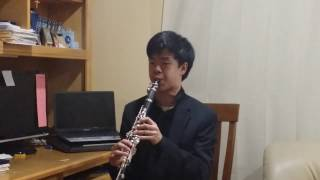 Clarinet Orchestral Excerpt: Beethoven- Symphony No. 6 Mvmt. I (Allegro ma non troppo)