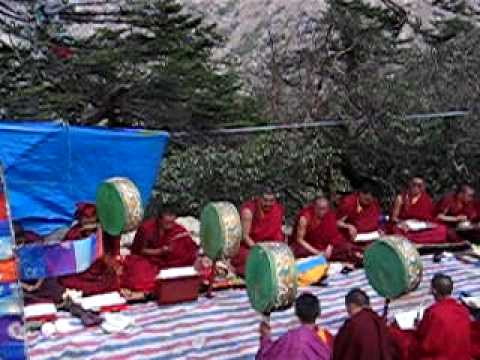 Tibetian Buddhist Pooja ceremony