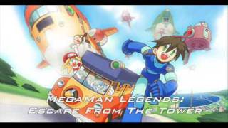MegaMan Legends 04 Escape From The Tower