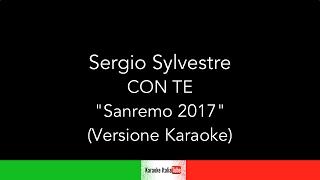 Sergio Sylvestre - Con te - Sanremo 2017 (Base Musicale Karaoke Cover)