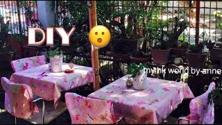 DIY HELLO KITTY TABLE COVER