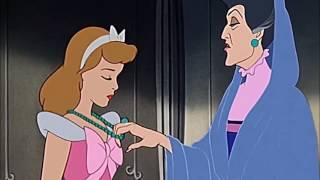 "CINDERELLA (1950) Scene: ""Never go back on my word...""/Shamed."