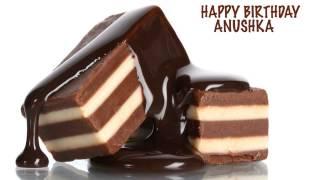 Anushka  Chocolate - Happy Birthday
