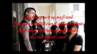 Falling In Reverse - Its Over When its Over ( Instrumental w/ Lyrics )
