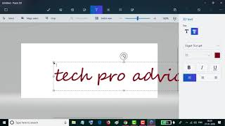 How to Create 3D Text in Paint 3D