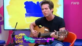 Maxi Espíndola - La llave. (Abel Pintos).