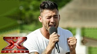 Jake Quickenden sings Every Little Thing She Does Is Magic | Judges' Houses | The X Factor UK 2014