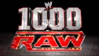 """WWE: New Raw Theme Song """"Tonight Is The Night"""" (Rap Mix)"""