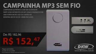 Campainha MP3 Sem Fio - DNI 6380