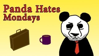 Newegg TV: Panda Hates Mondays - Halloween Commercial #1