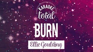 Burn - Ellie Goulding - Karaoke sin coros
