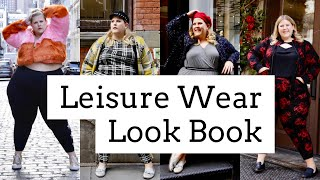 Vlogmas Day 4: Plus Size Leisure Wear Look Book