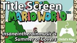 Title Theme - Super Mario World | Piano Cover