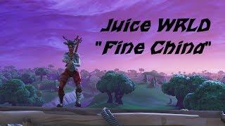 "Fortnite Montage - Juice WRLD ""Fine China"""