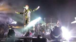 Tokio Hotel - Never Let You Down, live @ Tivoli Vredenburg, Utrecht 21-03-2015