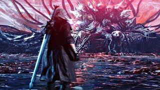 Devil May Cry 5 - Dante vs Urizen Boss Fight #8 (DMC5 2019) PS4 Pro